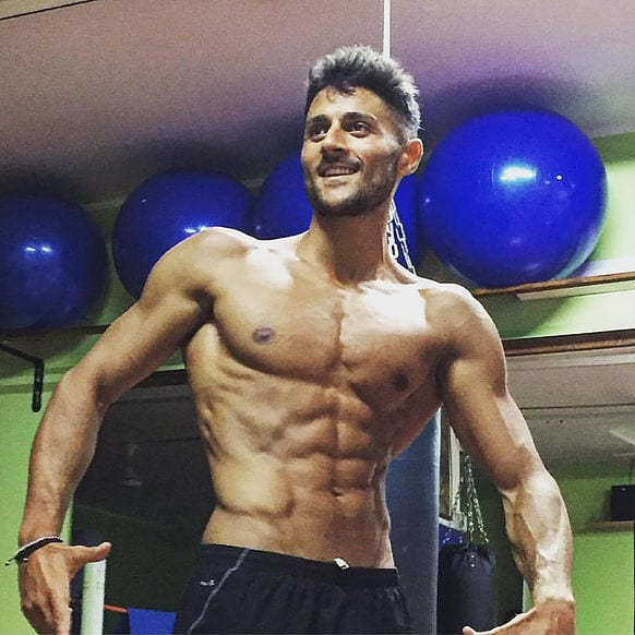Cosimo de Angelis Man Physique
