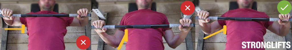 Bench Press Elbows
