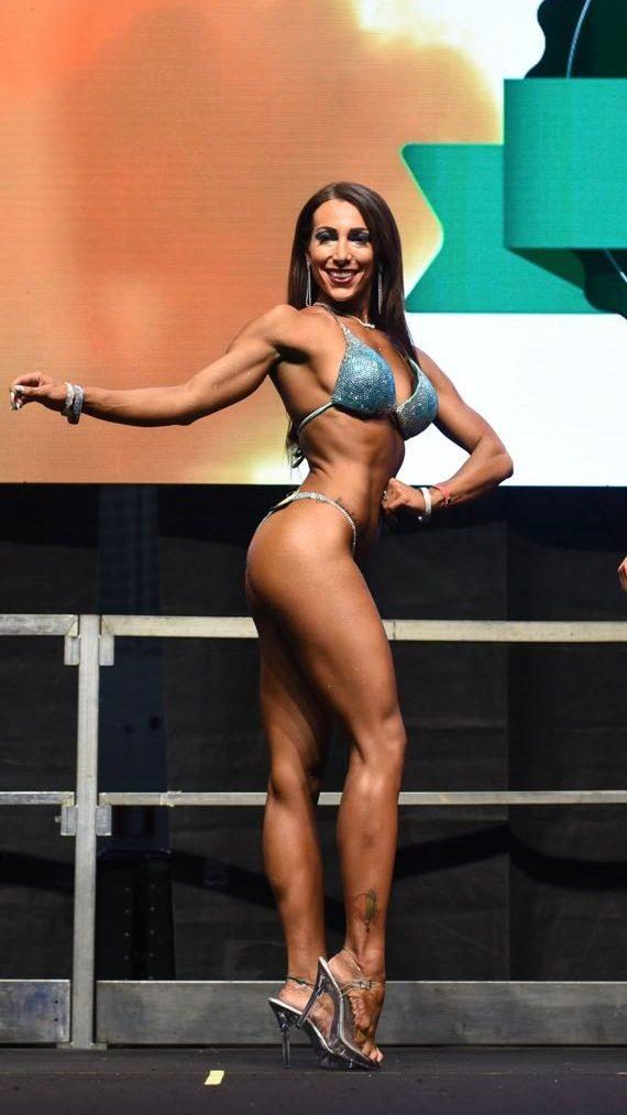 Gara donna body builder