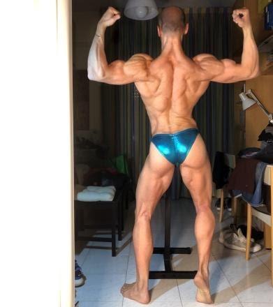 Michele de Sanctis - bodybuilder-natural bodybuilding
