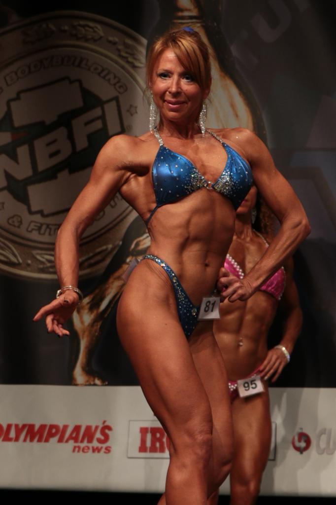 Iris Padoan - bodybuilding femminile over 50