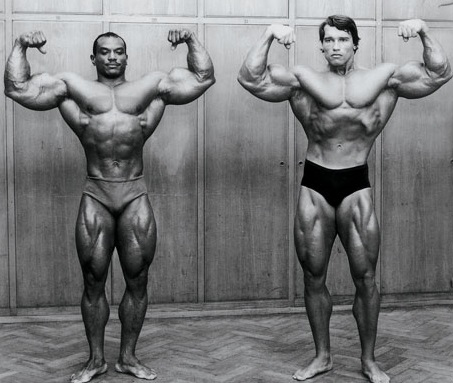 Sergio Oliva Arnold Pose Body Building