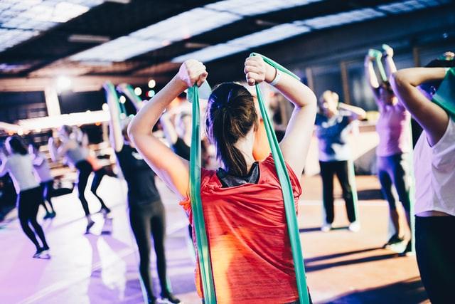 fitness e corpo scolpito donne bodybuilding
