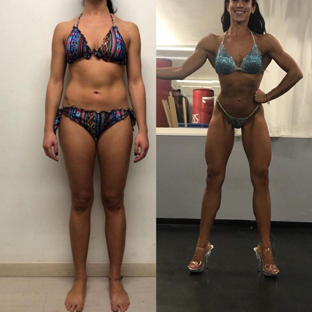 trasformazione prima e dopo dimagrimento localizzato