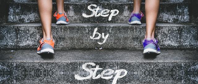 scala mindset corpo scolpito approccio graduale passo dopo passo