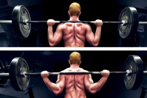 Squat high bar VS squat low bar