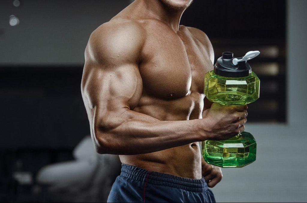acqua e sale nel bodybuilding