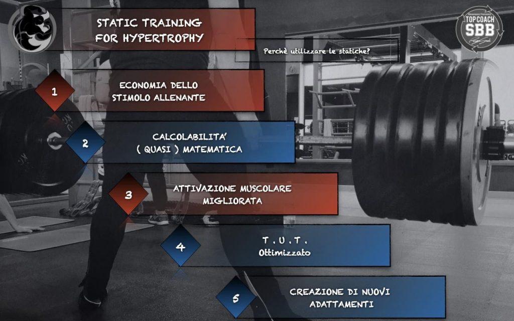 contrazione statica per bodybuilding isometria ed ipertrofia